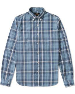 Button Down Fade Check Shirt