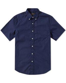Short Sleeve Broadcloth Shirt