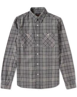 Flannel Check Work Shirt
