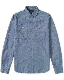 Chambray Usn Work Shirt
