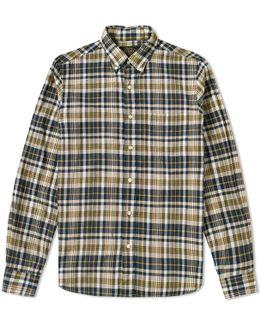 Button Down Madras Shirt