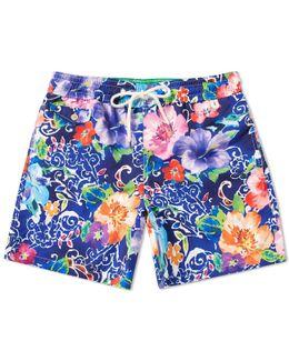 Floral Traveller Swim Short