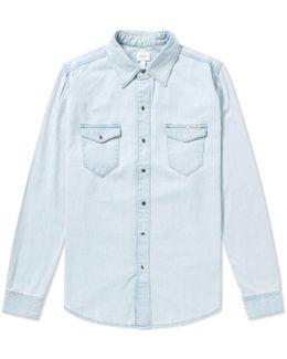 Jeans Long Sleeve Denim Shirt