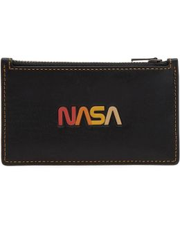 Nasa Zip Card Holder