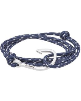 Silver Hook Rope Bracelet