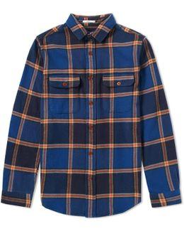 Check Twill Overshirt