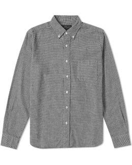 Button Down Shaggy Shirt