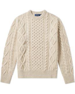 Aran Crew Knit