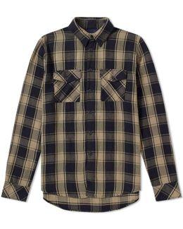 Nudie Sten Block Check Shirt