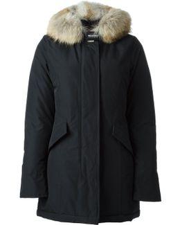 Black Luxury Arctic Parka