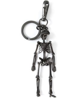 - Skeleton Keyring - Men - Brass - One Size
