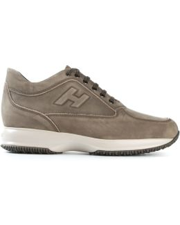 Panelled H Sneakers