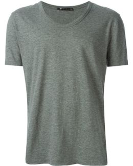Low Neck T-shirt