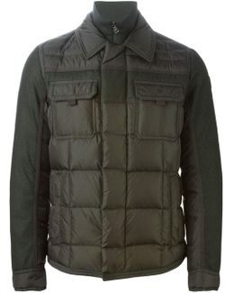 - 'edward' Padded Jacket - Men - Feather Down/polyamide/wool - 1