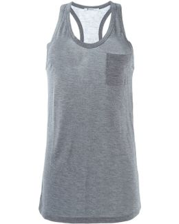 Chest Pocket Tank Top