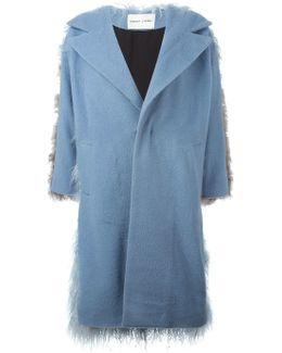 Mingo Denim and Shearling Coat