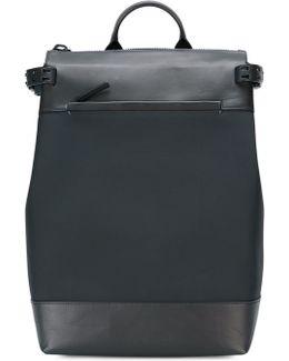 Fabric & Leather Rucksack
