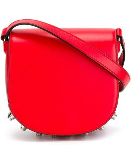 Lia Mini Leather Saddle Bag