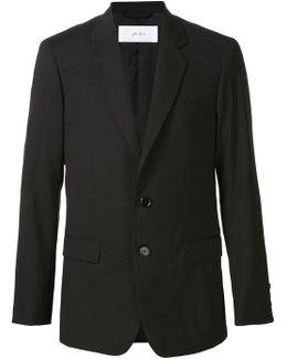 Wool-Blend Blazer Jacket