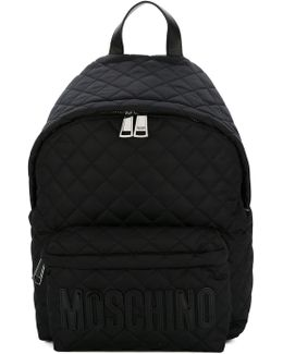- Quilted Backpack - Women - Leather/neoprene - One Size