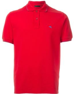 Logo Embroidered Polo Shirt