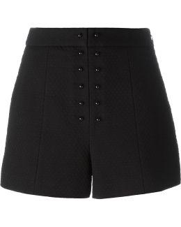 Textured Jacquard Shorts