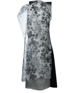 Paneled Wool and Silk-Blend Tunic