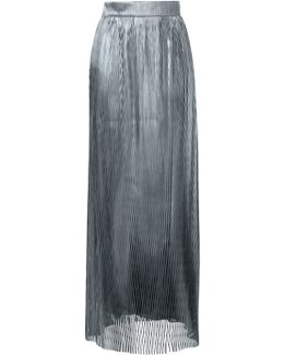 Woven Entwined Maxi Skirt