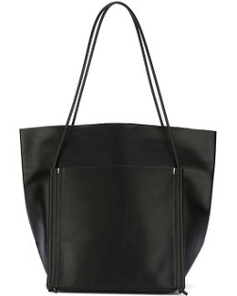 - 'pocket' Tote - Women - Leather - One Size