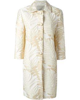 Jacquard Leaf Coat