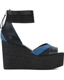 'bauhaus' Platform Wedge Sandals