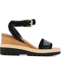'robin' Wedge Sandals