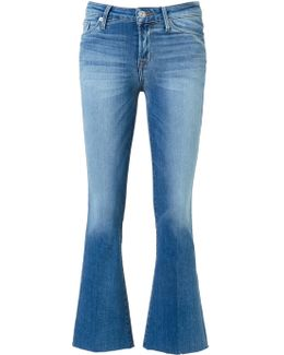 'carve' Cropped Jeans