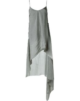 Slip Dress With Insert