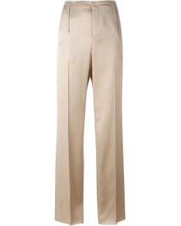 Satin Tailored Trousers