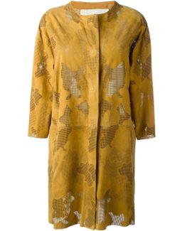Perforated Coat