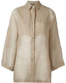 Bell-sleeve Shirt