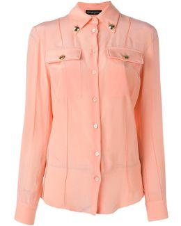 Trim Detail Pocketed Shirt