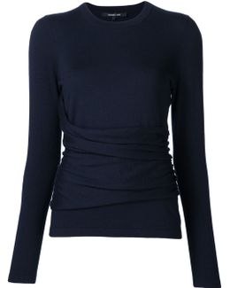 Ruched Detail Jumper