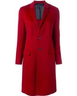 Peaked Lapels Mid-length Coat