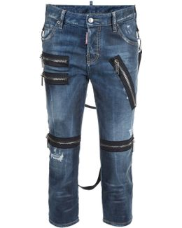 'cool Girl' Cropped Jeans