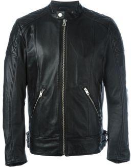 Panelled Zip Up Jacket