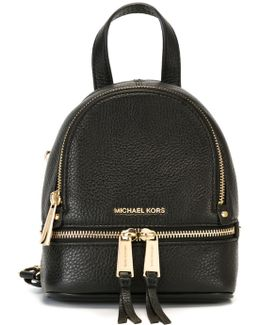 - Extra-small 'rhea' Backpack - Women - Leather - One Size