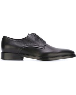 Two Fabric Derby Shoes