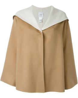 Cashmere Hooded Cape
