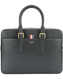 - Classic Briefcase - Men - Calf Leather - One Size