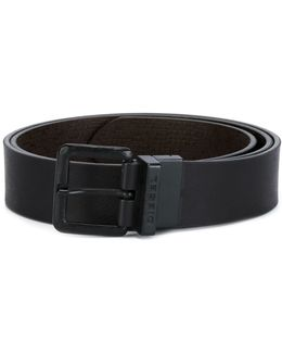 Branded Buckle Belt
