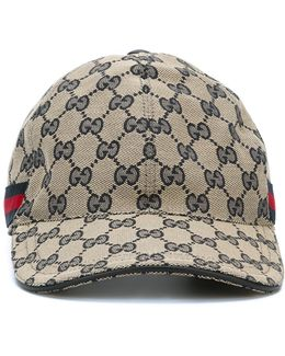 'original Gg' Baseball Cap With Web