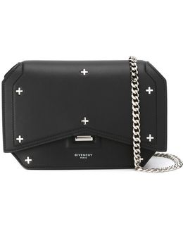 Mini Bow Cut Leather Cross-Body Bag