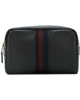 Stripe Detail Wash Bag
